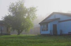 De mist van de ochtend Stock Afbeelding