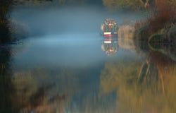 De Mist van EarlyMorning Stock Afbeeldingen