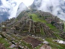 De Mist van Picchu van Machu Royalty-vrije Stock Afbeeldingen