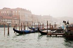 De mist van Venetië stock fotografie