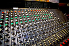 De mixer van Analogic Royalty-vrije Stock Afbeeldingen