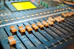 De mixer van de muziek Royalty-vrije Stock Afbeeldingen