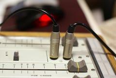 De mixer van de studio Stock Foto's