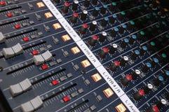 De Mixer van de studio Stock Afbeeldingen