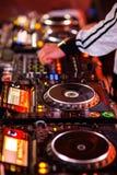 De mixer van DJ Stock Fotografie