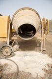 De mixer van het cement Stock Afbeelding