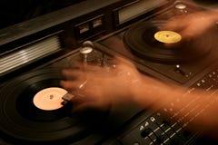 De mixer van Retro DJ Stock Fotografie