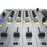 De Mixerknopen van DJ Royalty-vrije Stock Afbeelding