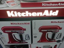 De mixers van de KitchenAidtribune royalty-vrije stock foto's