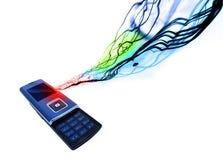 De mobiele Telefoon van de Cel vector illustratie