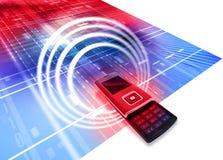 De mobiele Telefoon van de Cel Royalty-vrije Stock Foto