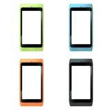 De Mobiele Telefoon van de Cel van het Scherm van de aanraking Royalty-vrije Stock Afbeelding