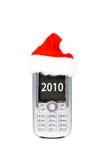 De mobiele telefoon van Kerstmis Royalty-vrije Stock Fotografie