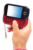 De mobiele telefoon van verschillende media royalty-vrije stock foto's