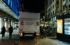 De mobiliteit en de huuroplossingenvoertuig p van Mercedes-Benz CharterWay Royalty-vrije Stock Afbeeldingen