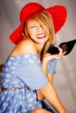 De moda feliz Imagen de archivo libre de regalías