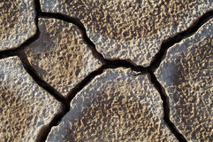 De modder van Craked door droogte royalty-vrije stock afbeeldingen
