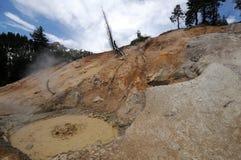 De modderpot van Lassen stock afbeelding