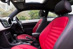 De Model rode zetel van Volkswagen Beetle 2013 Royalty-vrije Stock Afbeelding