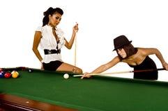 De modellen van de pool royalty-vrije stock afbeelding