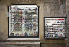 De modellen van de winkelschaal van auto's Royalty-vrije Stock Afbeelding