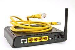 De modem van ADSL stock fotografie