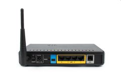 De modem van ADSL Stock Afbeeldingen