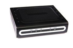 De modem van ADSL stock foto's