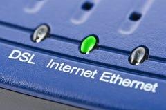 De modem van Internet stock afbeelding