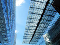 De modern bouw & dak Stock Foto's