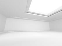 De moderne Achtergrond van het de Architectuurontwerp van Minimalistic Binnenlandse Stock Afbeelding
