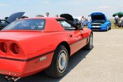 De moderne Amerikaanse Auto van de Spier Royalty-vrije Stock Foto's