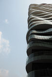 De moderne architecturale bouw Royalty-vrije Stock Fotografie