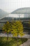 De moderne architectuur van bomen Royalty-vrije Stock Foto
