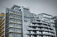 De moderne Architectuur van het Glas Royalty-vrije Stock Afbeeldingen