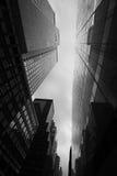 De Moderne Architectuur van Manhattan Stock Fotografie