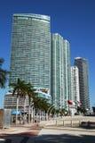 De Moderne Architectuur van Miami Stock Foto