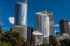 De moderne architectuur van Sydney royalty-vrije stock foto's