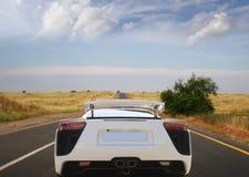De moderne auto van de luxe Stock Foto's