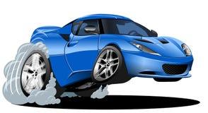 De moderne auto van het beeldverhaal Stock Foto's