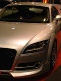 De moderne auto van het brons Royalty-vrije Stock Afbeeldingen