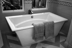 De moderne Badkamers van de Hoteltoevlucht Stock Foto's