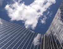 De moderne bankbouw Stock Afbeeldingen