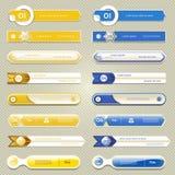 De moderne banner van infographicsopties Vector illustratie kan voor werkschemalay-out, diagram, aantalopties, Webontwerp worden  Stock Afbeelding