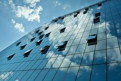 De moderne bedrijfsbouw Stock Foto