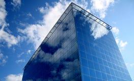 De moderne bedrijfsbouw Stock Afbeelding