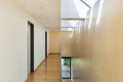 De moderne binnenlandse bouw, Stock Fotografie