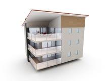 De moderne bouw stock illustratie