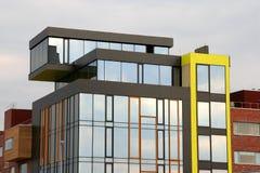 De moderne bouw Stock Foto's