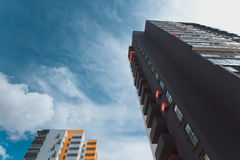 De moderne bouw Stock Foto